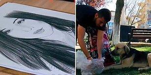 Kaleminden Mama Dökülüyor: Çizimleriyle Sokak Hayvanlarının Karnını Doyuran Güzel İnsan