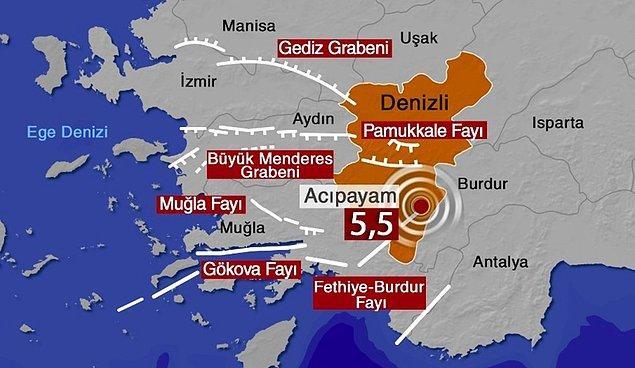 Deprem tüm Ege Bölgesi ile Güney Marmara kentlerinde de hissedildi.