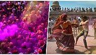 Eğlencenin Dibine Vurdular! Baharın Gelişini Kutlayan Hindistanlıların Aşırı Eğlenceli Görüntüleri