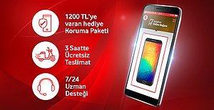 Bu telefonda 1200 TL değerindeki Koruma Paketi ve 3 saatte teslimat ücretsiz!