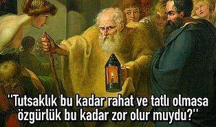 Sinoplu Bilge Filozof Diyojen'in Evlenme Planı Yapanları Şüphe İçinde Bırakacak Bir Hayat Dersi Var!