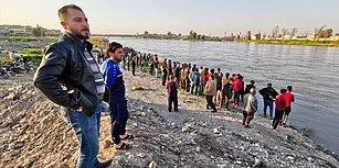 Musul'da Facia:  Dicle Nehri'nde Bot Battı, Hayatını Kaybedenlerin Sayısı 85'e Yükseldi