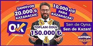 Muhteşem Pazar'a Hazır Olun! Rekor Ödüllü Yarışmada Oyna Kazan Tam 150.000 TL Dağıtacak