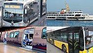 Hangi Toplu Taşıma Aracısın?