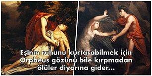 Eurydike'ye Olan Aşkı Yüzünden Tanrılara Meydan Okuyup Ölüme Bile Kafa Tutan Bahtsız Aşık Orpheus