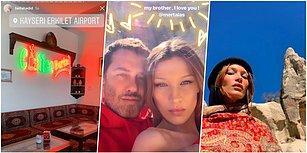 Ünlü Model Ülkemize Övgüler Yağdırdı! Bella Hadid, Mert Alaş ile Kapadokya'da Çekim Yaptı Ortalık Yıkıldı