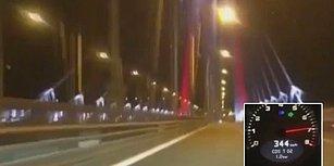 Yavuz Sultan Selim Köprüsü'nden 344 KM Hızla Geçti!