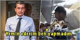Alkollü Olduğu İçin Olay Çıkardığı Uçaktan Zorla İndirildiği İddia Edilen Erkan Petekkaya'nın Videosu Ortalığı Karıştırdı!