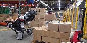 Boston Dynamics'in Yük Taşıyabilen ve Sıçrayabilen Yeni Robotu 'Handle' Büyülemeye Devam Ediyor!