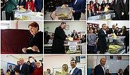 Kim, Nerede Oy Kullandı? Siyasiler de Sandık Başında