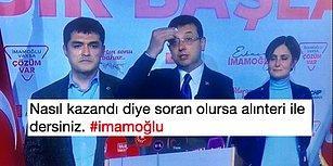 Ekrem İmamoğlu'nun İstanbul Zaferinden Sonra Sevinçlerini Çılgınlar Gibi Paylaşan İnsanlar