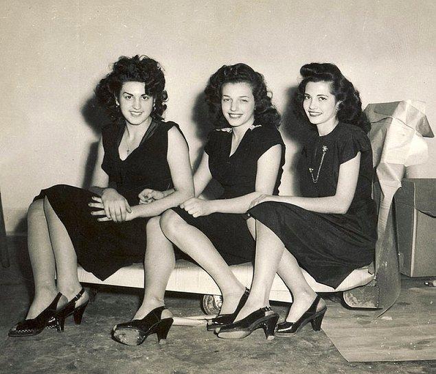 14. Moda esintileri, İstanbul 1950.
