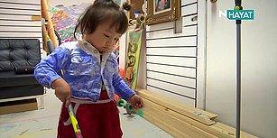Binlerce Dolara Alıcı Bulan Resimler Yapan 2 Yaşındaki Ressam!