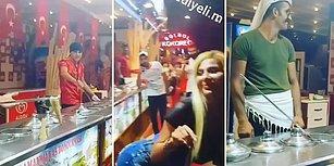 Kendisiyle Oynayan Maraş Dondurmacısının Aklını Başından Alan Kadın
