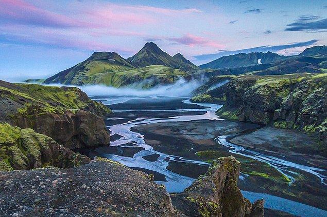 13. İzlanda'da ray sistemi yoktur.