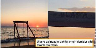 Dünyanın En Üzgün Salıncağı: Trafik Kazasında Yaşamını Yitiren Oğlu Ulaş İçin Denize Karşı Salıncak Yapan Mehmet Abi
