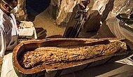Tarihe Tanıklık Ettik: Mısır'da Bir Rahibe Ait Dört Bin Yıllık Lahit Bir İlke İmza Atılarak Canlı Yayında Açıldı!
