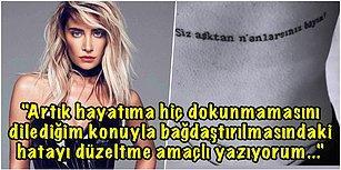 Ahmet Kural ile Alakası Yok, Didem Madak Şiiri Dedi... Yaptırdığı Dövmesiyle Gündem Olan Sıla'dan Açıklama Geldi!