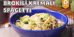 Hüpleterek Yiyip Tadına Doyamayacağınız Nefis Makarna: Brokolili Kremalı Spagetti Nasıl Yapılır?