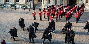 Game Of Thrones Ekibinden, Londra Kalesi'ni Ziyaret Edenlere Muhteşem Sürpriz!