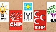Soyadına Göre Hangi Partiye Oy Veriyorsun?