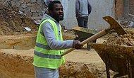 Futbolcuyum Diyerek Kamerun'dan Türkiye'ye Geldi İnşaat İşçisi Oldu