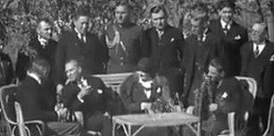 ABD Büyükelçisi ile Fransızca Konuşan Atatürk'ün Yeniden Gündeme Gelen Muhteşem Görüntüleri