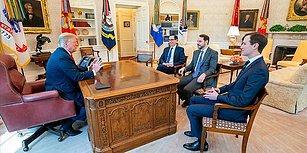 Hazine ve Maliye Bakanı Berat Albayrak, ABD Başkanı Donald Trump ile Görüştü
