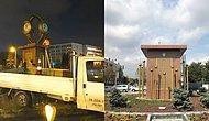 Gökçek Döneminde Konulmuştu: Ankara'da Tartışılan Kol Saati Anıtı Kaldırıldı