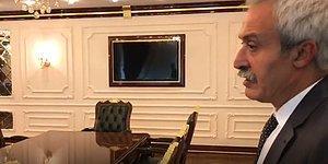 Başkan Mızraklı, Kayyumdan Devraldığı Makam Odasının Görüntülerini Paylaştı: 'Halkın Parasıyla Saray Yapmışlar'