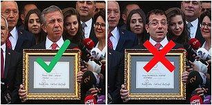 Trollemelere Doymuyoruz! Mansur Yavaş'ın Fotoğrafına Ekrem İmamoğlu'nu Monteleyip Haber Kanallarını Dahi Trolleyen Twitter Kullanıcısı