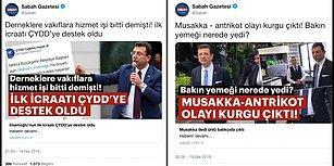 Ekrem İmamoğlu'nun İstanbul Büyükşehir Belediye Başkanı Olmasıyla 'Garip' Haberlerin Dozunu Artıran Sabah Gazetesi