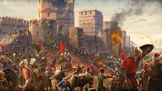 İstanbul'u korumaya çalıştın ama olmadı, şehri savunurken öldün.