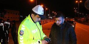 Trafik Polislerinin Yazdığı Cezayı Az Bulan Vatandaş: 'Biraz Daha İçerdim'