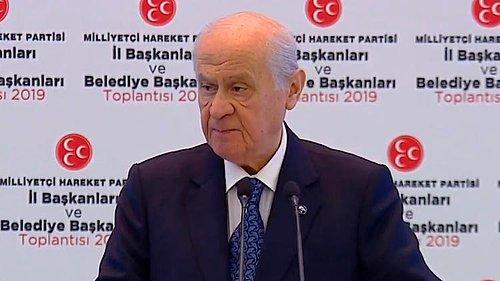 Bahçeli: 'Oy Oranımız 18.81'dir, O da Atatürk'ün Doğumudur'