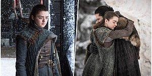 Game of Thrones 8. Sezon 2. Bölümde Arya'nın Bütün İzleyicilere Yaşattığı Ufak Çaplı Şok ve Ona Gelen Tepkiler