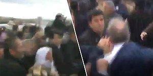 Çubuk'taki Cenazede, TBMM Başkanvekili Levent Gök'e Saldırı Görüntüleri Ortaya Çıktı