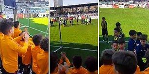 Galatasaray U10 Takımından Fenerbahçe U9 Takımına Muhteşem Destek
