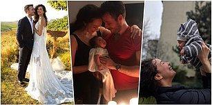 Buraya Nazar Boncuğu Gelecek! Dünya Güzelimiz Azra Akın'ın Gözlerden Kalpler Fışkırtan Mutlu Aile Tablosu