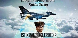 Onlar Gökyüzünün Kahramanları: Dünya Pilotlar Günü Kutlu Olsun