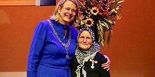 82 Yaşındaki Zehra Nine Hollanda Kraliyet Nişanı'na Layık Görüldü: 'Milletimi Sevdiğim İçin Yaptım'