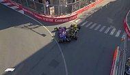 Bakü'de F1 Tarihine Geçen Kaza