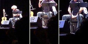 Konserden 2 Saat Önce Annesinin Vefat Haberini Alan İranlı Şarkıcı Mohsen Namjoo, Sahnede Şarkı Söylerken Ağlamaya Başladı!
