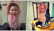 Bebişlerin Röntgen Çekiminde Sabit Durmasını Sağlayan İlginç Cihazdan Komik Görüntüler