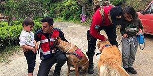 Rize'den Sevindirici Haber: Kaybolan İki Çocuk, Ormanlık Alanda Bulundu