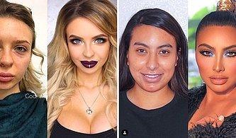 Her Kadının En Güzel Yanını Ortaya Çıkarabilecek Makyajın Gücünü Gösteren 25 Etkileyici Fotoğraf