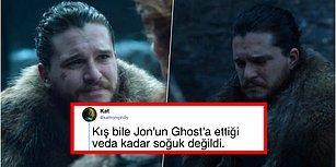 Game of Thrones'un Son Bölümünde Jon Snow'un Verdiği Karardan Sonra Tepkilerini Tweetleriyle Gösteren İzleyiciler