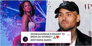 Justin Bieber da Destekledi! Bir Türlü Akıllanmayan Chris Brown, Yeni İç Çamaşırı Koleksiyonuyla Büyüleyen Rihanna'ya Yine Yürüdü!