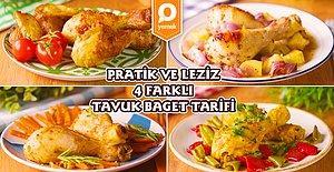 İftara Ne Yapsam Derdine Son! Fırında Tavuk Baget Hazırlamanın Birbirinden Lezzetli 4 Pratik Yolu
