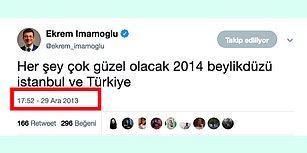 Ekrem İmamoğlu'nun Yıllar Önce Attığı Tweet Herkesi Şaşırttı
